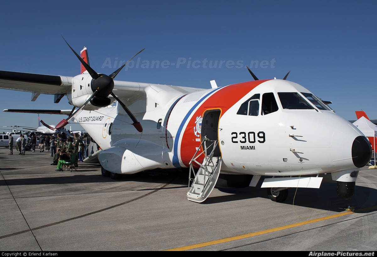 USA - Coast Guard 2309 aircraft at Homestead - ARB