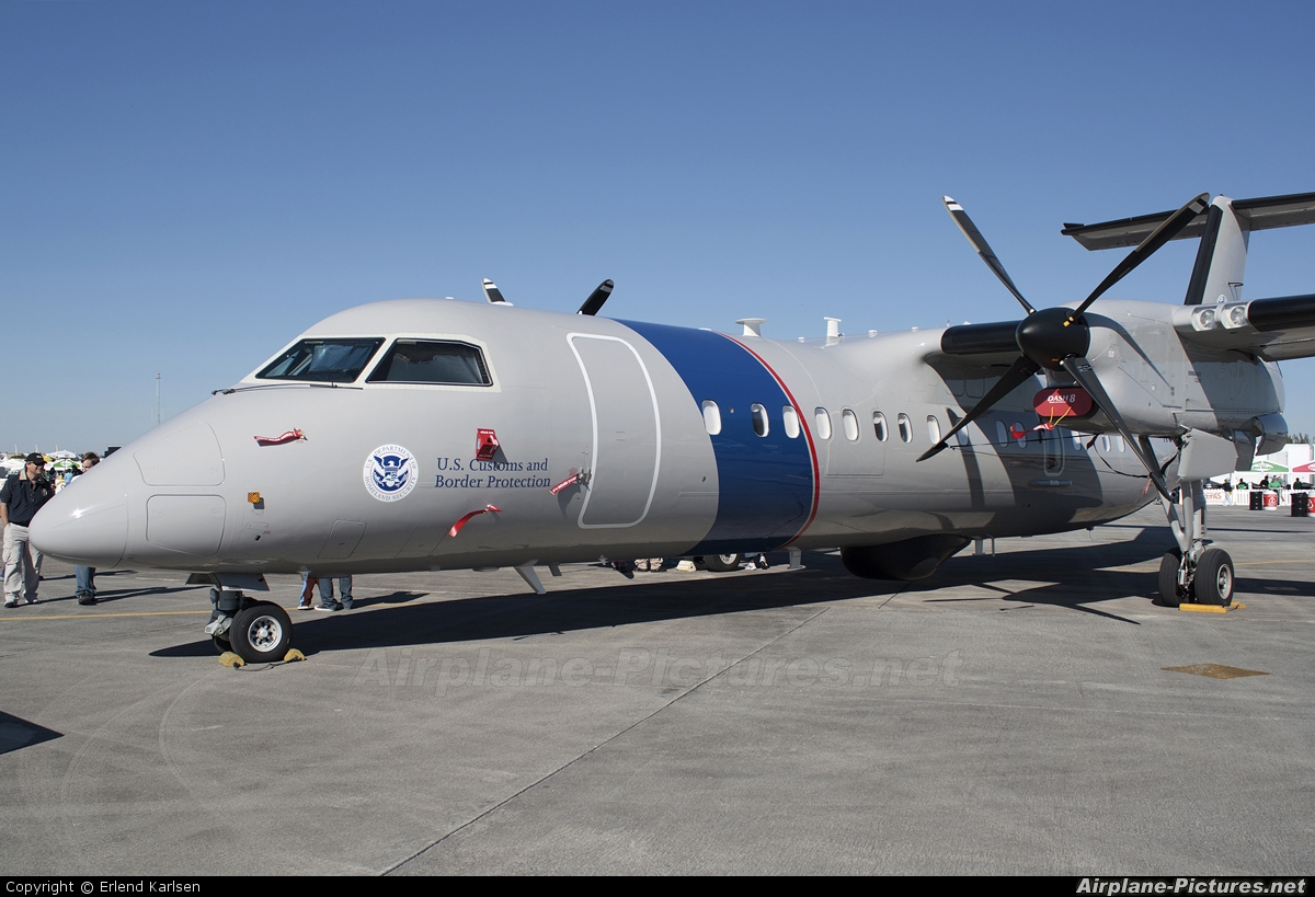 USA - Dept. of Homeland Security N808MR aircraft at Homestead - ARB
