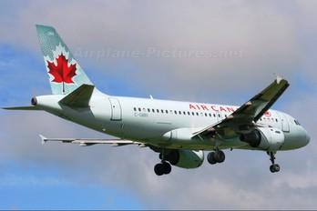 C-GBIN - Air Canada Airbus A319