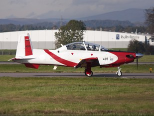 496 - Israel - Defence Force Hawker Beechcraft T-6A Texan II
