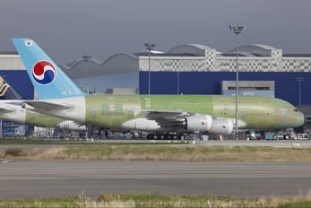 F-WWAT - Korean Air Airbus A380