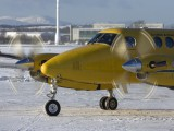 G-SASC - Scottish Ambulance Service Beechcraft 200 King Air aircraft
