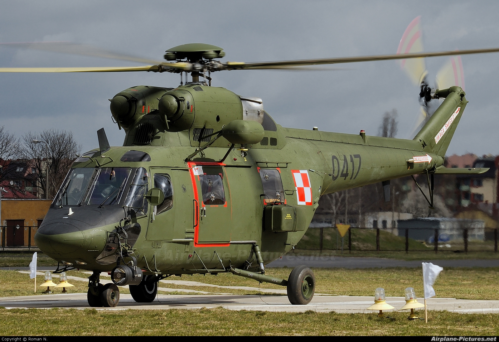 Poland - Air Force 0417 aircraft at Bydgoszcz - Szwederowo