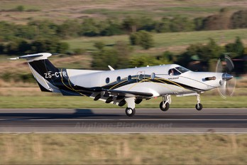 ZS-CTR - Private Pilatus PC-12