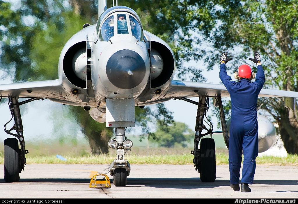 Argentina - Air Force I-018 aircraft at Tandil