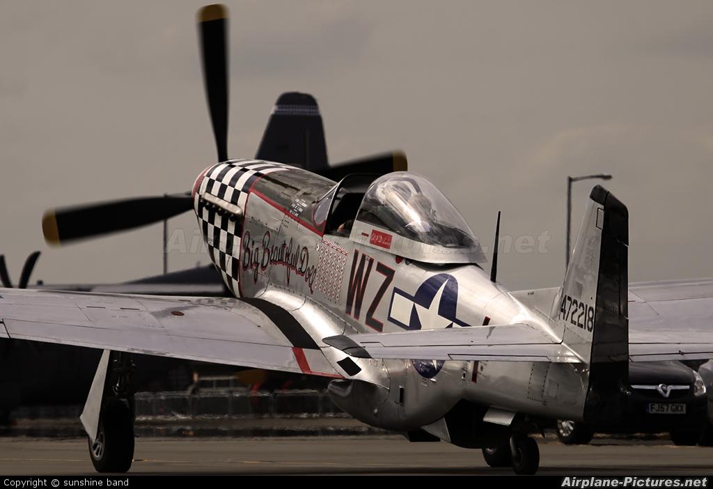 Private G-HAEC aircraft at Waddington