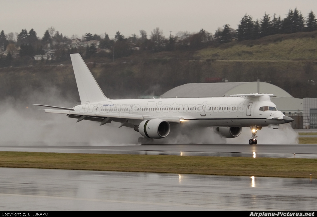 Boeing Company N757A aircraft at Seattle - Boeing Field / King County Intl