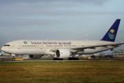HZ-AKE - Saudi Arabian Airlines Boeing 777-200ER aircraft