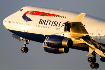 G-CIVA - British Airways Boeing 747-400
