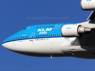 PH-BFF - KLM Asia Boeing 747-400