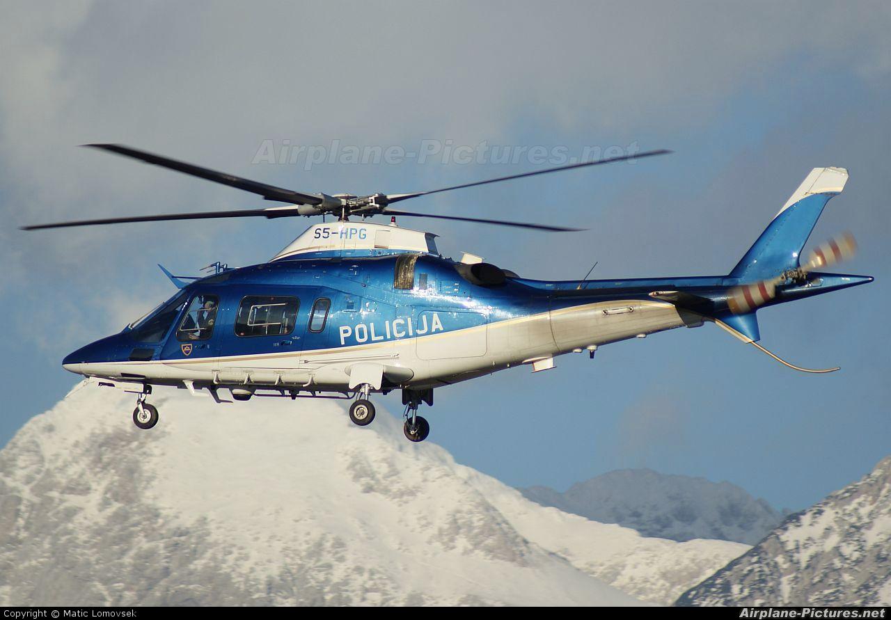 Slovenia - Police S5-HPG aircraft at Ljubljana - Brnik