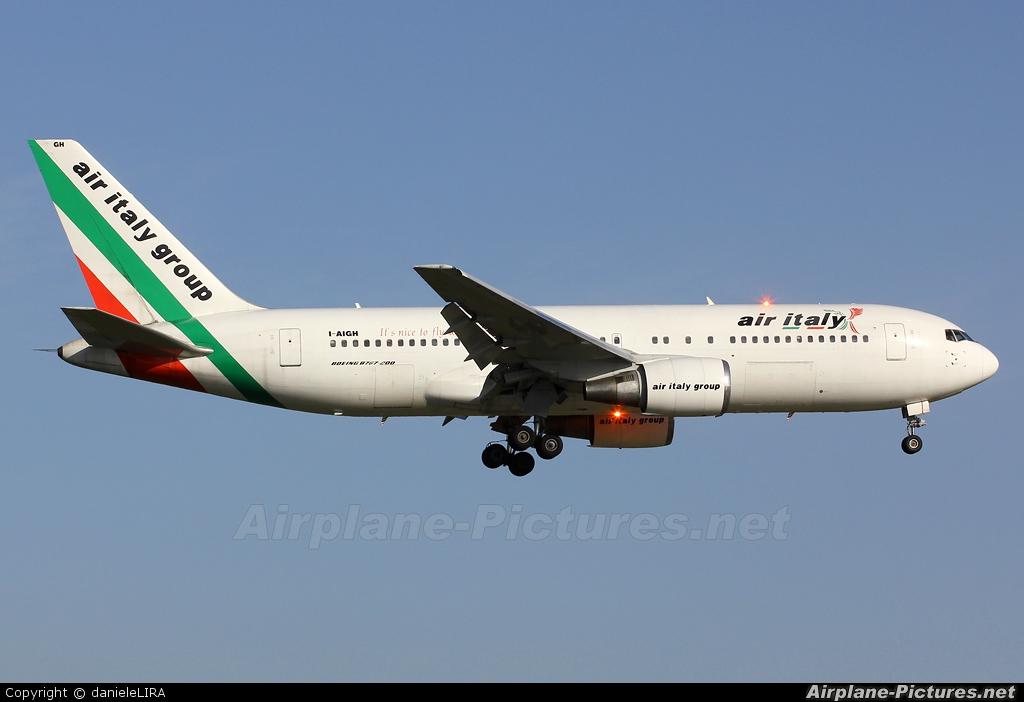Air Italy I-AIGH aircraft at Rome - Fiumicino