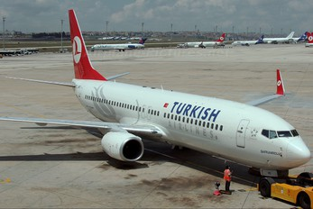 TC-JHB - Turkish Airlines Boeing 737-800