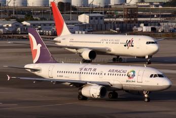 B-MAK - Air Macau Airbus A319