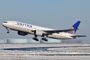 N773UA - United Airlines Boeing 777-200ER aircraft