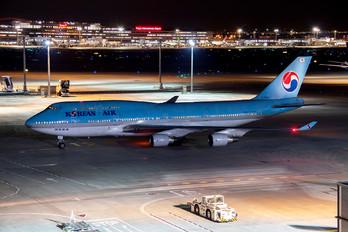 HL7607 - Korean Air Boeing 747-400
