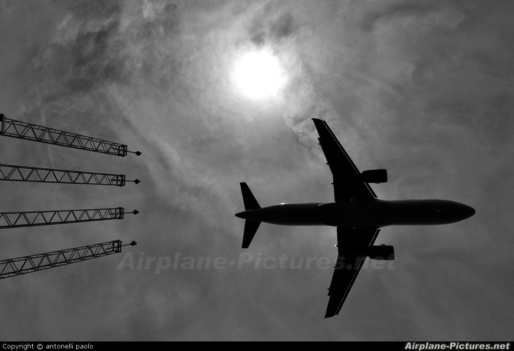 Afriqiyah Airways 5A-ONB aircraft at Brussels - Zaventem
