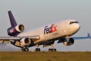 N579FE - FedEx Federal Express McDonnell Douglas MD-11F aircraft