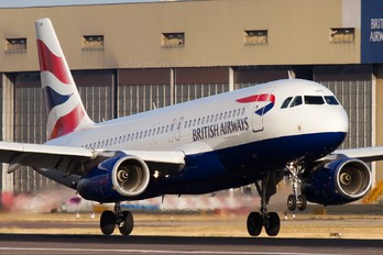 G-EUUB - British Airways Airbus A320