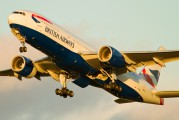 G-YMMI - British Airways Boeing 777-200 aircraft