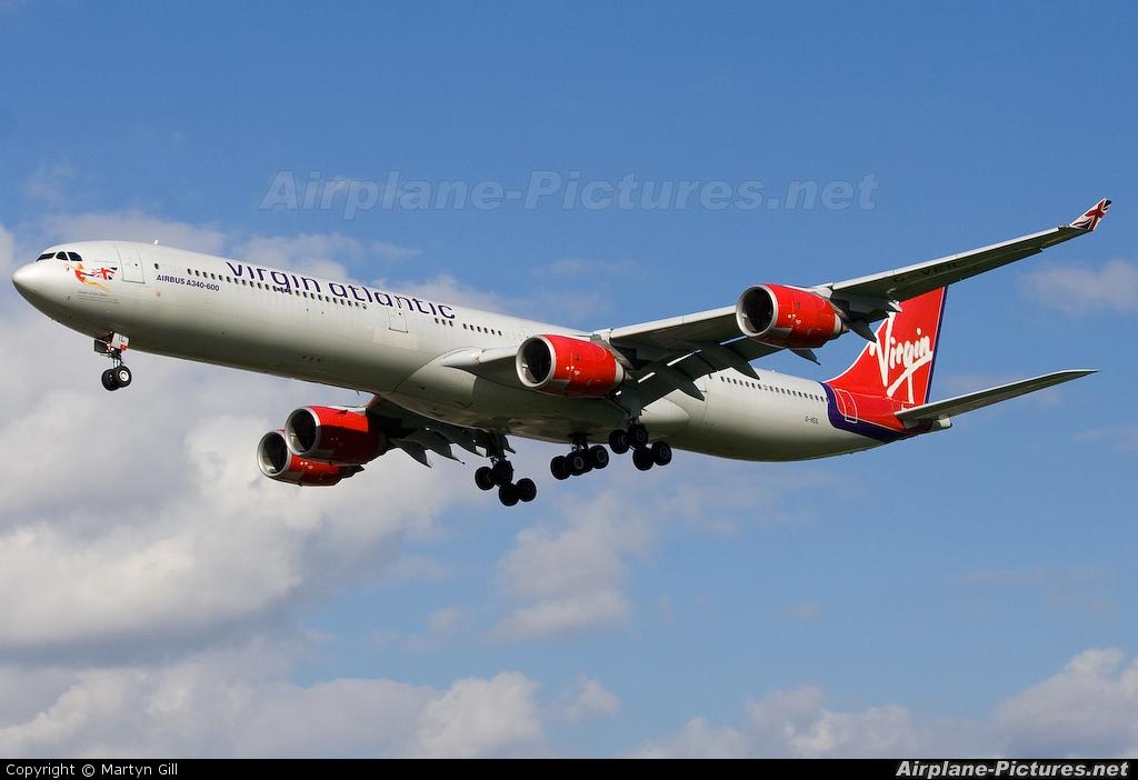 Virgin Atlantic G-VEIL aircraft at London - Heathrow