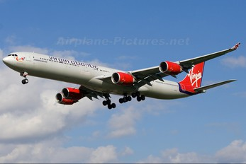 G-VEIL - Virgin Atlantic Airbus A340-600