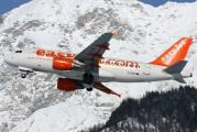 G-EZIP - easyJet Airbus A319 aircraft