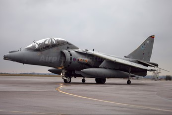 ZH664 - Royal Air Force British Aerospace Harrier T.12