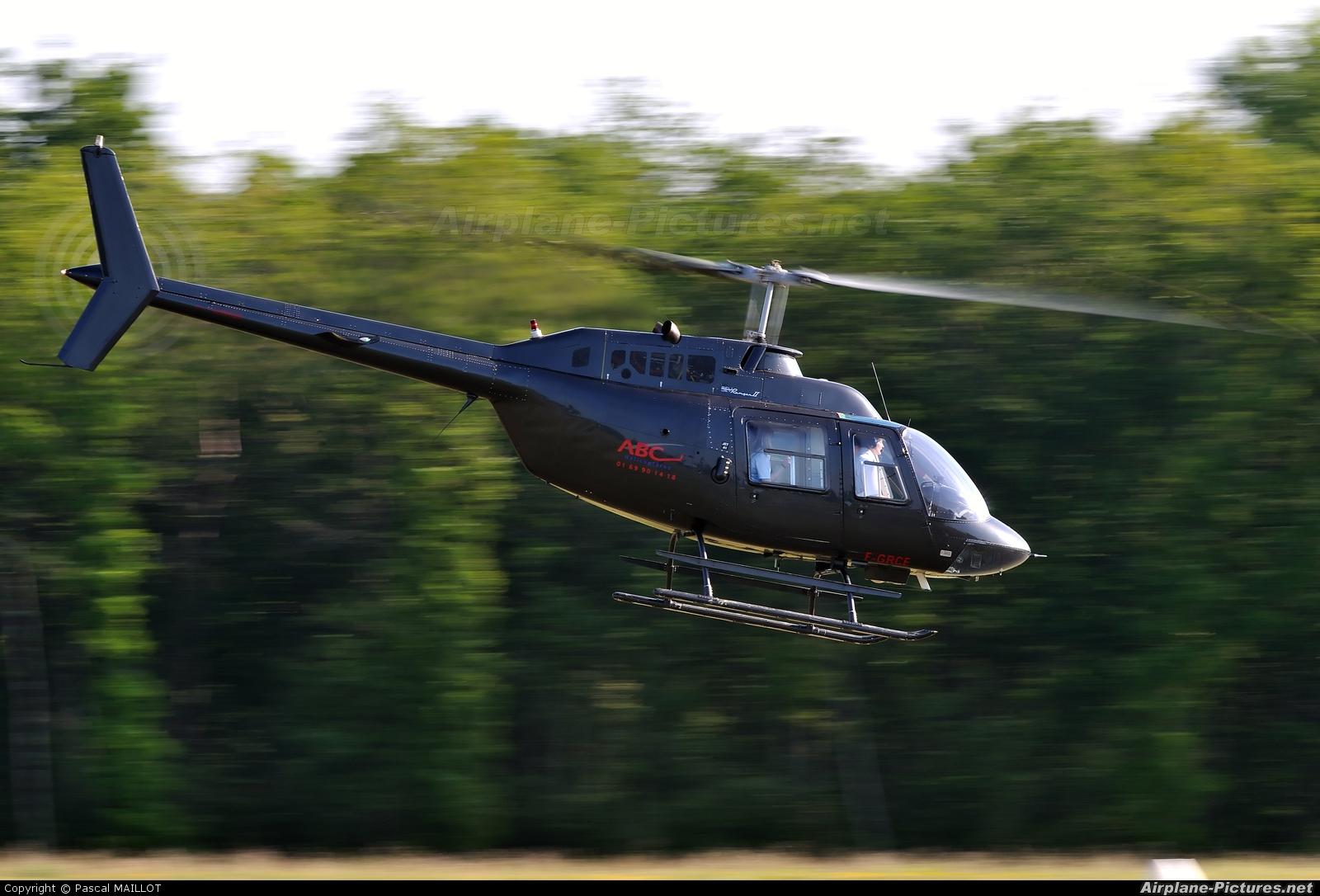 ABC hélicopters F-GRCE aircraft at La Ferté-Alais