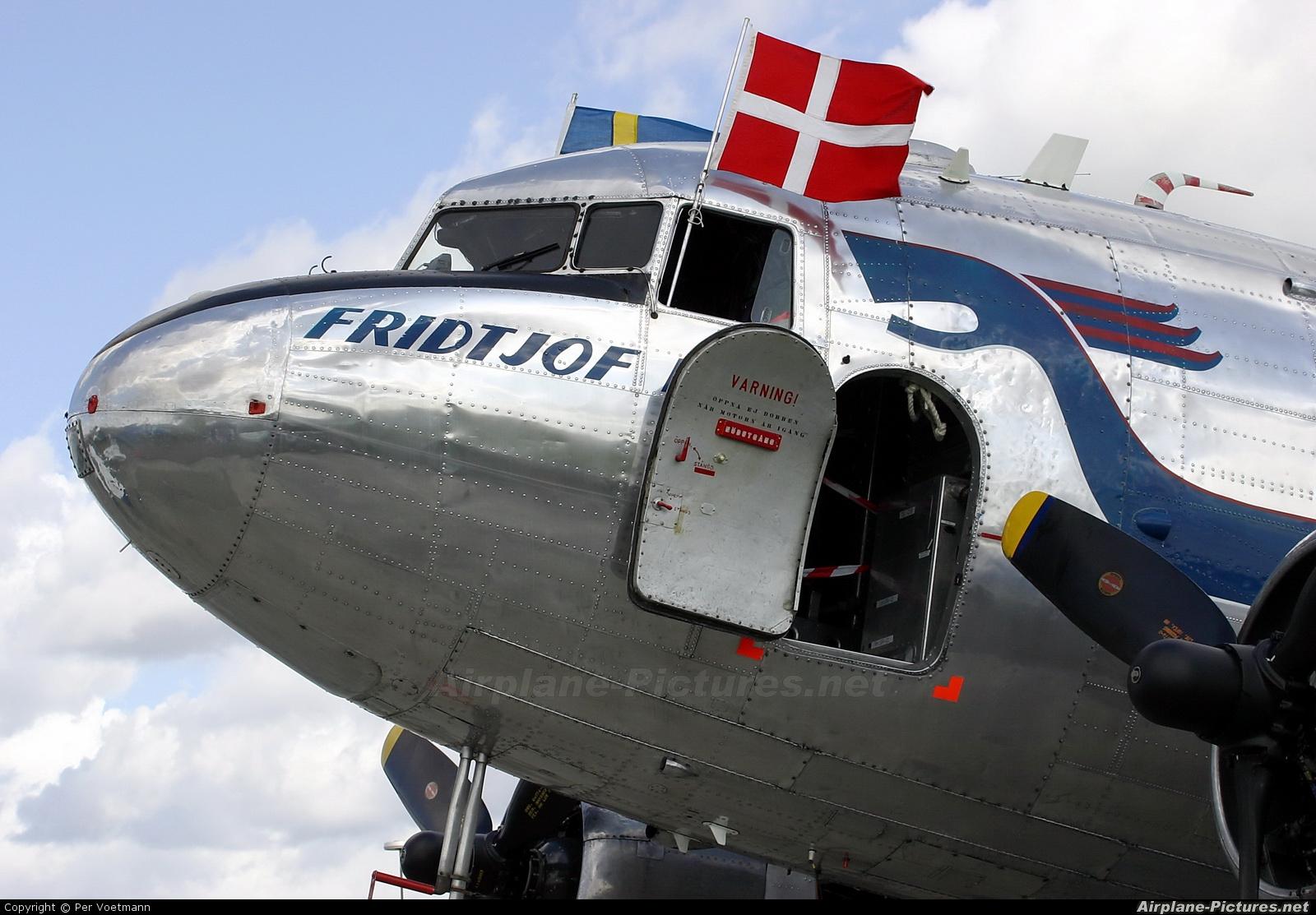 SAS - Flygande Veteraner SE-CFP aircraft at Copenhagen Roskilde