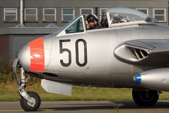 SE-DXS - Private de Havilland DH.115 Vampire T.11
