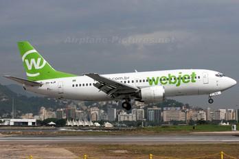 PR-WJR - WebJet Linhas Aéreas Boeing 737-300