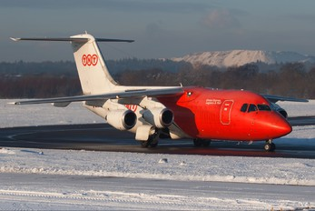 EC-HJH - TNT British Aerospace BAe 146-200/Avro RJ85-QT Quiet Trader
