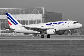 F-GRHN - Air France Airbus A319