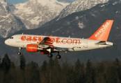 G-EZAB - easyJet Airbus A319 aircraft