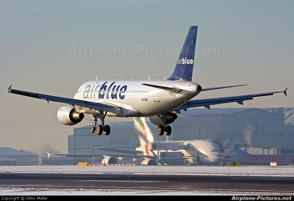 Ap Bie Air Blue Airbus A319