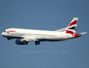G-EUUU - British Airways Airbus A320