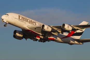 A6-EDL - Emirates Airlines Airbus A380