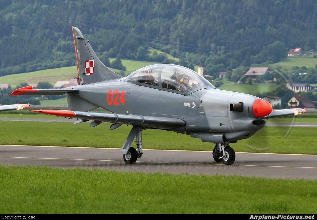 "Poland - Air Force ""Orlik Acrobatic Group"" 024 aircraft at Zeltweg"