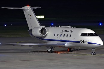 12+05 - Germany - Air Force Canadair CL-600 Challenger 601