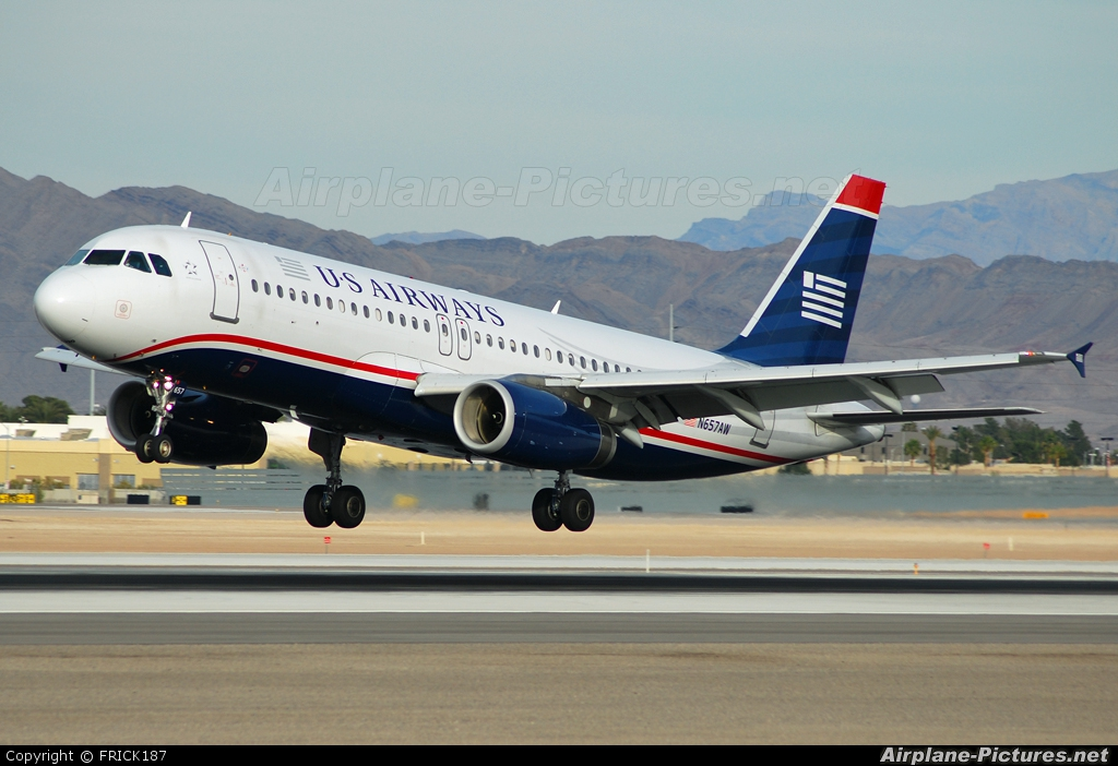 US Airways N657AW aircraft at Las Vegas - McCarran Intl