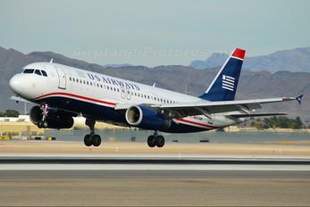 N657AW - US Airways Airbus A320