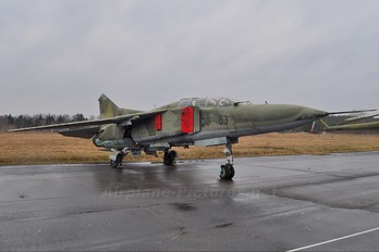 2063 - Germany - Democratic Republic Air Force Mikoyan-Gurevich MiG-23UB