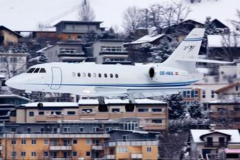 OE-HKK - Avcon Jet Dassault Falcon 2000 DX, EX
