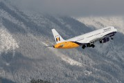 G-OZBL - Monarch Airlines Airbus A321 aircraft