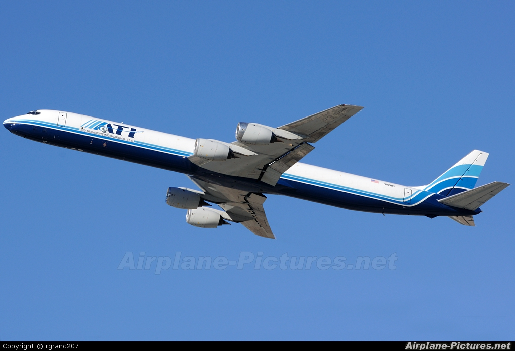 ATI - Air Transport International N821BX aircraft at Los Angeles Intl