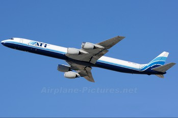 N821BX - ATI - Air Transport International Douglas DC-8-71(F)