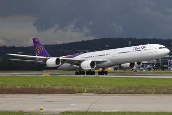 HS-TNF - Thai Airways Airbus A340-600