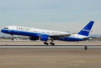 N542UA - United Airlines Boeing 757-200