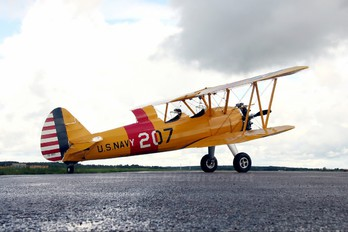 SE-BOZ - Private Boeing Stearman, Kaydet (all models)